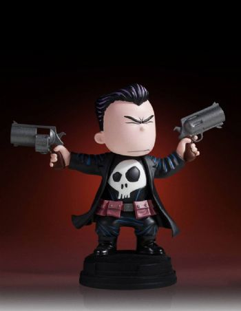 Gentle Giant Marvel Comics Animated The Punisher Mini Statue 14cms - Special Offer - Pre-Order